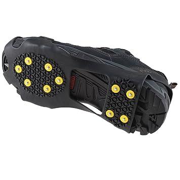 Amazon.com: IMAGE - Zapatos antideslizantes para nieve y ...