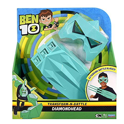 Ben 10 Battle Gauntlet and Mask Bundle Hero Play - Diamondhead]()