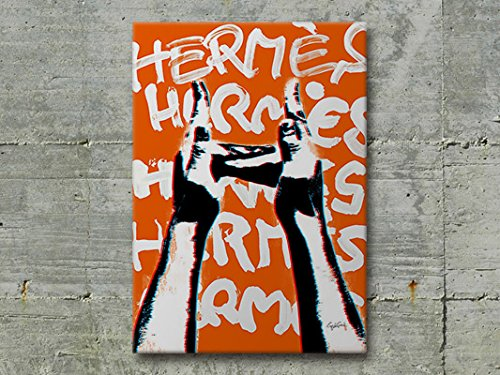 #047 Craig Garcia sign language HERMES slh ブランド モチーフ アート ポスター (A3, 01) [並行輸入品] B075W2674H A3|01 1 A3