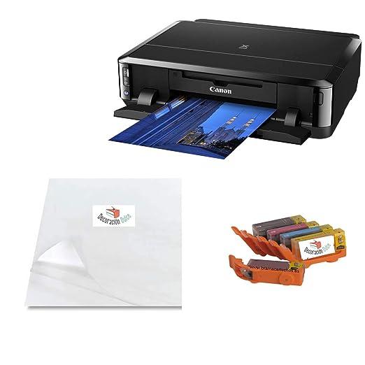 Un Kit para Empezar imprimiendo con Tinta Comestible Sobre Papel Comestible. Ideal para decoración de Tartas, Cupcakes etc. (con Papel Multi Transfer)