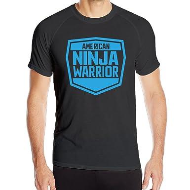 Amazon.com: Mens American Ninja Warrior Logo Quick Dry ...