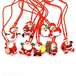 Christmas Decoration Inspiration Christmas Necklaces