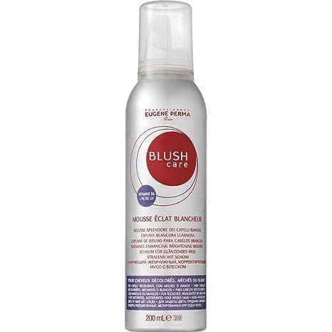 Eugene Perma, profesional Blush Care, Espuma blancura luminosa, plata