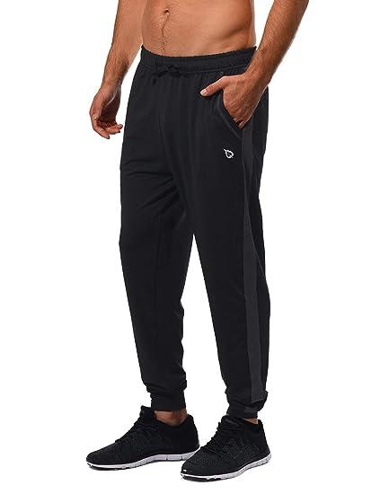 435f5281764 Amazon.com   Baleaf Men s Running Pants Workout Training Jogger ...