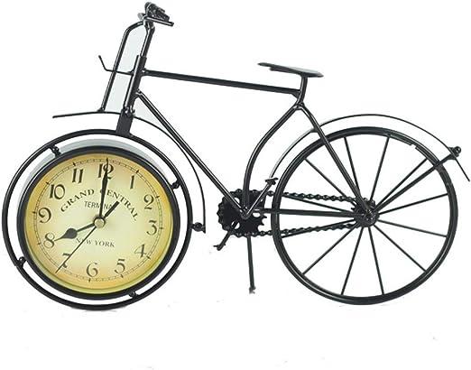 Reloj de escritorio Diseño de reloj de bicicleta retro Sala de ...