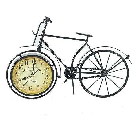MOMIN-Home Reloj Clásico Bicicleta Retro Diseño de Reloj Sala de ...