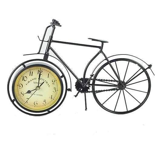 Yangxuelian Reloj de Escritorio Diseño Retro del Reloj de la ...