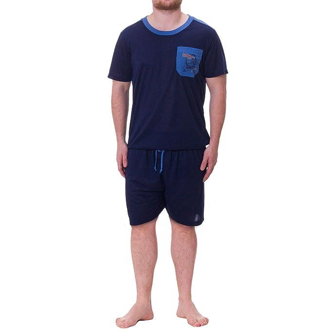 Henry Terre – Shorty Pijama hombre M de 5 x l azul marino 2 mes