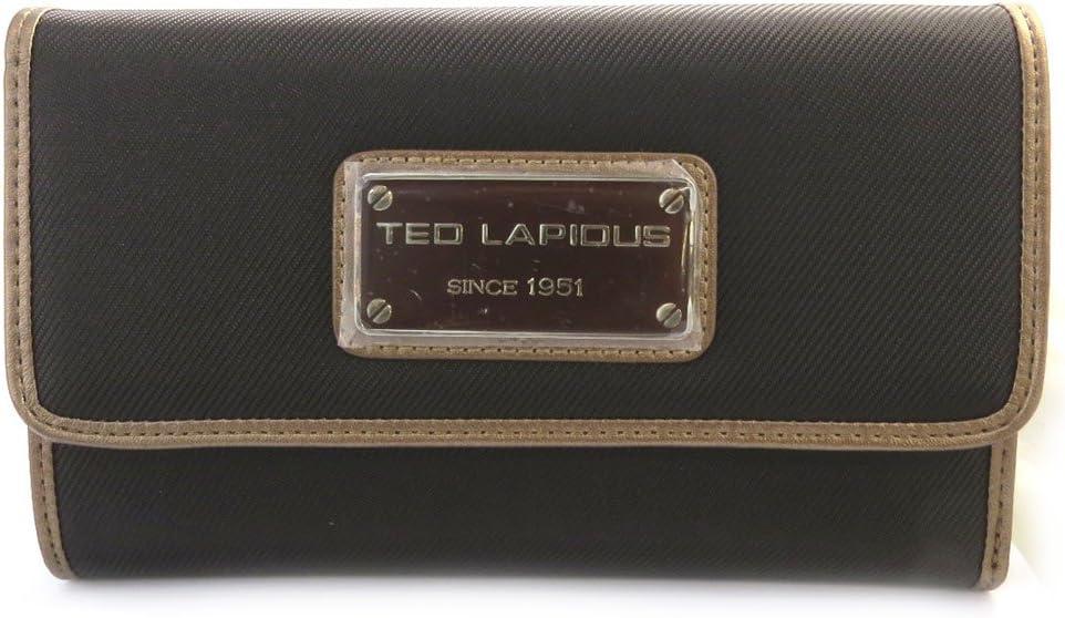 Grand Portefeuille Porte-monnaie Ted Lapidus marron Ted Lapidus M8602