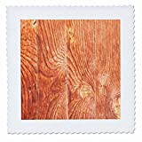 3dRose Alexis Photography - Texture Wood - Old weathered wooden planks of brown color - 16x16 inch quilt square (qs_273699_6)