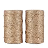328 Feet Natural Jute Twine String for Crafts and Artist by Generic