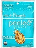 Peeled Snacks Pine - 4 - Pineapple Dried Fruit - 1.4 Ounces - 10 Pack