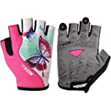 JPOJPO Cycling Gloves for Men Women 3D Gel Pad Bike Glove S-XL