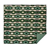VHC Brands Rustic & Lodge Southwest Bedding - Sante Fe Green Quilt, Pine, Queen