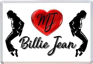 MICHAEL JACKSON BILLIE JEAN FRIDGE MAGNET