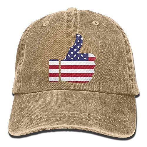 Cowgirl Hat Hats Merica DEFFWB Skull Men Women for of Cap Sport Denim Flag Cowboy 1dtv8qU