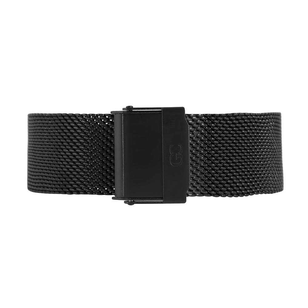 Gelfand & Co. Quick Release Interchangeable Watch Strap Mesh 18mm Black