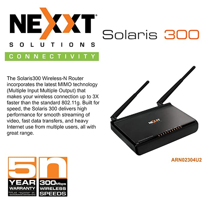 Amazon nexxt solaris 300 wireless n router mimo 24ghz 300mbps amazon nexxt solaris 300 wireless n router mimo 24ghz 300mbps 4 ports built for speed computers accessories keyboard keysfo Image collections
