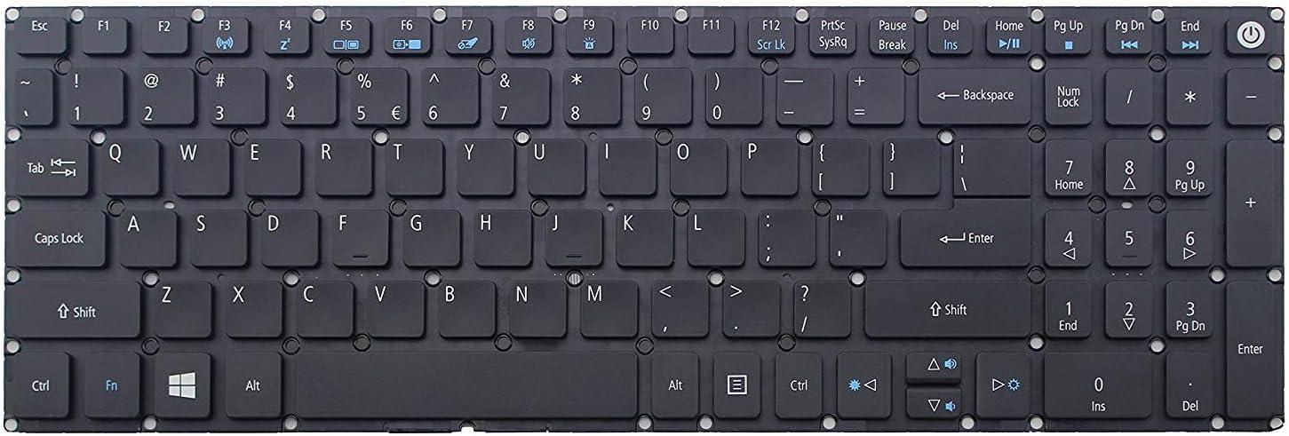 Genuine New US Backlit Keyboard for Acer ES1-732 F5-522 F5-771G