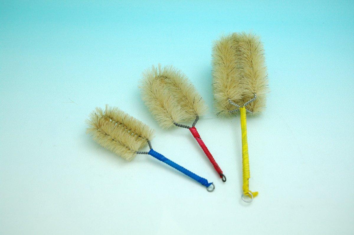 Beyondsupply-lab Beaker Brush Wash Clean Tool a Set of 4 New