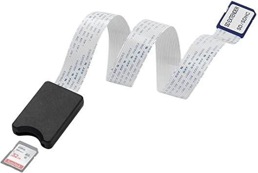 Cable de Extensión LANMU SD a SD,Extensor para Tarjeta SD,Adaptador y Conversor de Extensión para Tarjeta de Memoria SD para Raspberry Pi/GPS/Cámara Wild/SDHC SDXC: Amazon.es: Electrónica