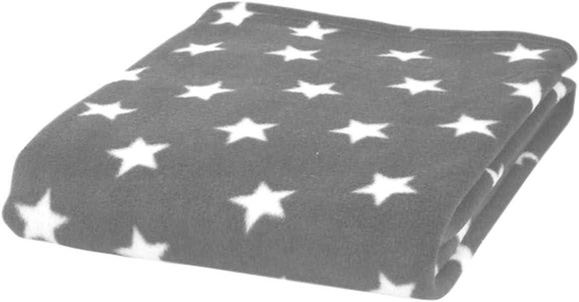 Elli /& Raff Star Design Microplush Supersoft Baby Blanket 70cm x 90cm NEW