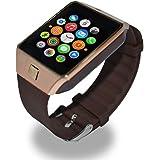 Epresent Wearable Smart Watch Phone Dz09 (Brown)