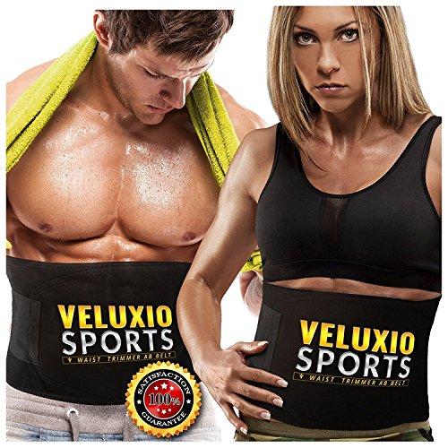 Veluxio Elite Waist Trimmer Weight Loss Ab Belt For Men & Women