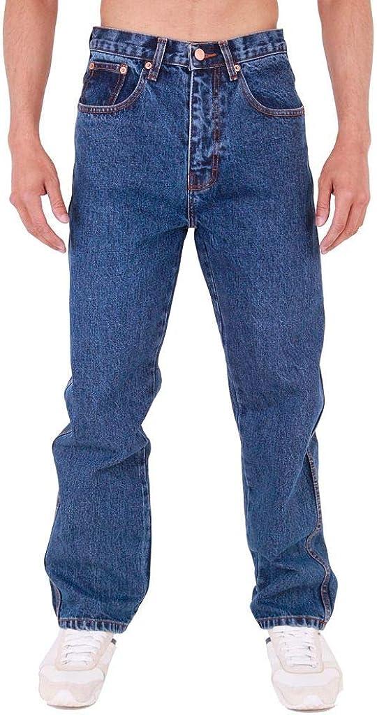 Pantalones vaqueros para hombre Azteca, resistentes, rectos, ajustados regulares, de pierna recta