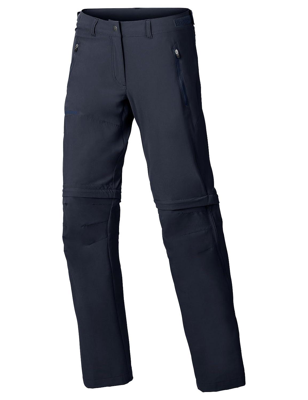 Eclipse 40 courte VAUDE Wohommes Farley Stretch Off T-Zip Pants, Abzippbare Wanderhose Bas Femme