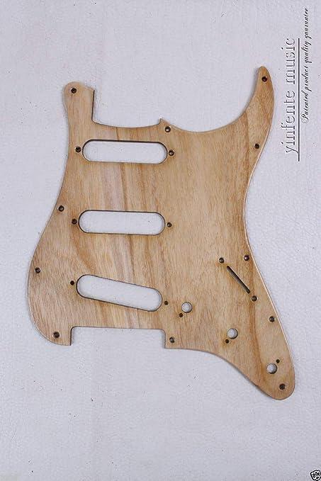 Nuevo golpeador de guitarra eléctrica llama madera de fresno SSS ...