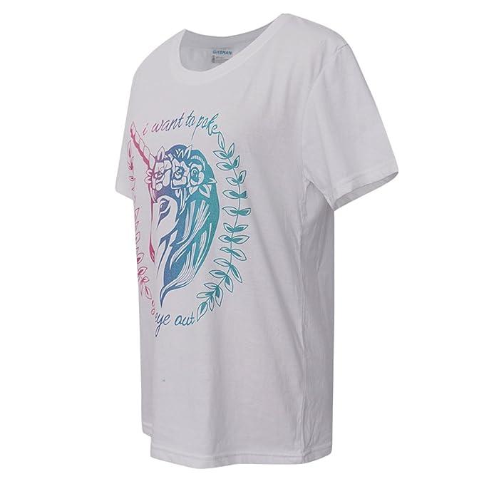 MagiDeal Las Mujeres De Las Niñas Unicornio Camiseta Tops Camiseta M Rose Flor Velo De La Venda Vestido De Lujo: Amazon.es: Juguetes y juegos