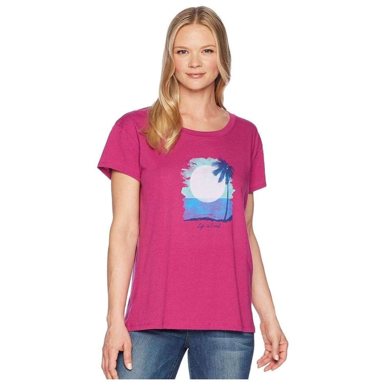 (ライフイズグッド) Life is Good レディース トップス Tシャツ Sunset In Paradise Breezy Tee [並行輸入品] B07F9M8C32