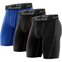 Runhit Compression Shorts for Men,Mens Underwear Spandex Shorts Workout Running