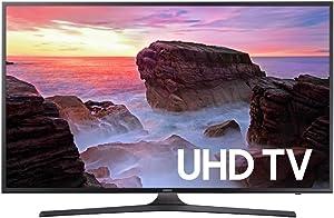 Samsung Electronics UN55MU6300 55-Inch 4K Ultra HD Smart LED TV (2017 Model) (Renewed)