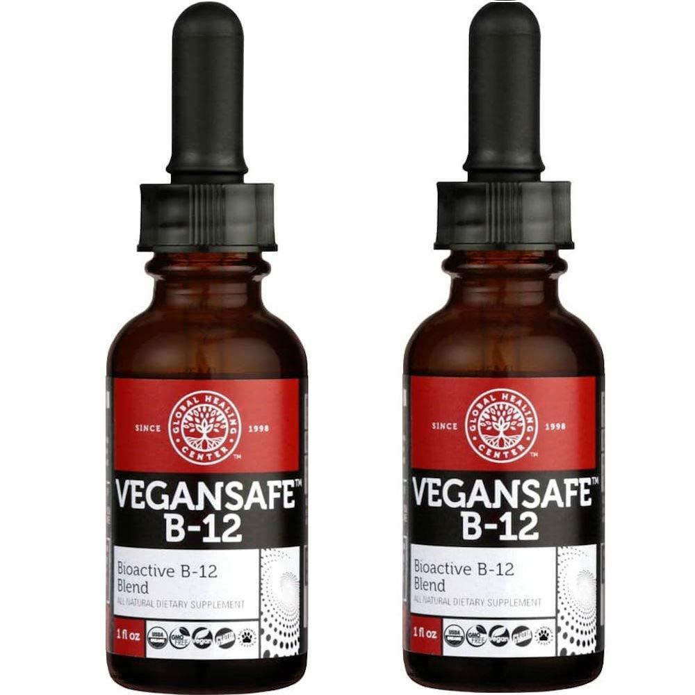 Global Healing Center VeganSafe B-12 1 oz (2 Pack)