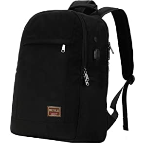 c9a5b2463aa7 Amazon.com  Laptop Backpack-Beyle Anti-Theft Water Resistant Travel ...