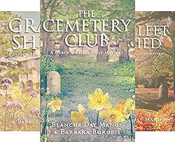 Darcy & Flora Cozy Mystery (4 Book Series) by  Blanche Day Manos Barbara Burgess
