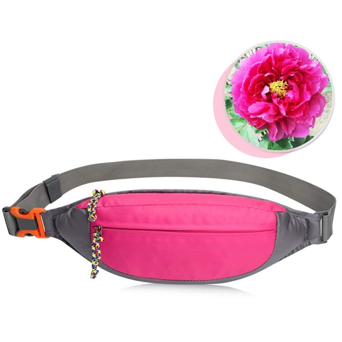 XIAMEND Outdoor Running Belt Waterproof Waist Bag Security Waist Pouch Jogging Belt Mobile Phone Pouch for Walking Holidays Hiking Cycling Running Color : Yellow