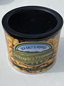 Salt and Pepper 10oz cans Gillespie's Peanuts grown on our family farm! sp (3)