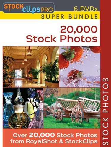 20,000 Stock Photo Super Bundle (6 DVDS) (Stock Photos Clipart)