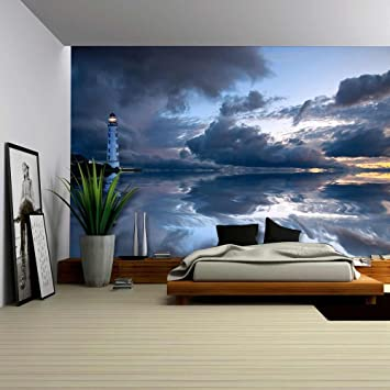 Wall26   Lighthouse   Removable Wall Mural | Self Adhesive Large Wallpaper    66x96 Inches Part 86