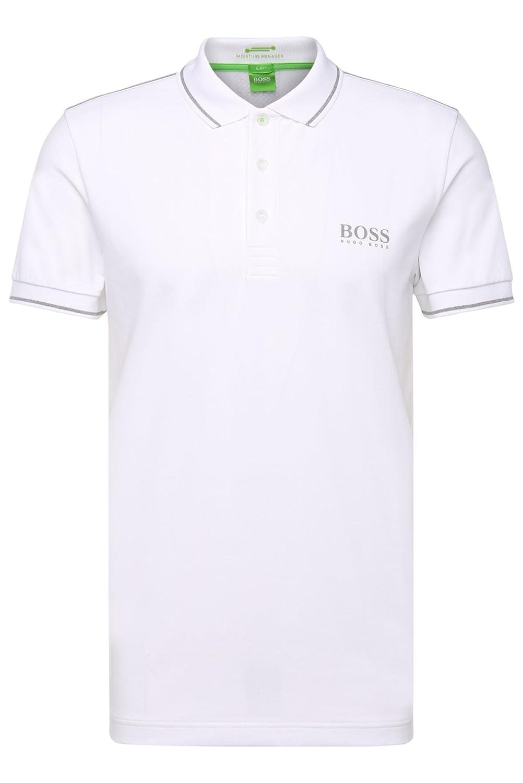 e650860ab Amazon.com: HUGO BOSS Paule Pro Polo Shirt White: Clothing