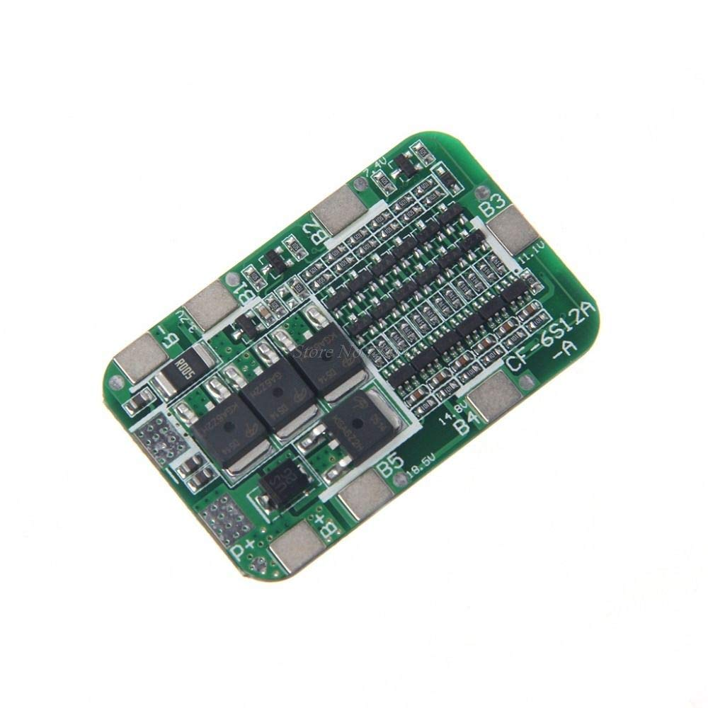 5S 18650 15A 21V Bms Protection Pcb Board Li-Ion Lithium Battery JE