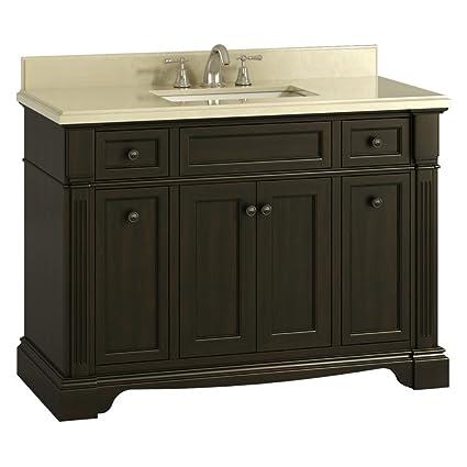 . Amazon com  Lanza WF6976 48 Bryon 48 in  Single Bathroom Vanity