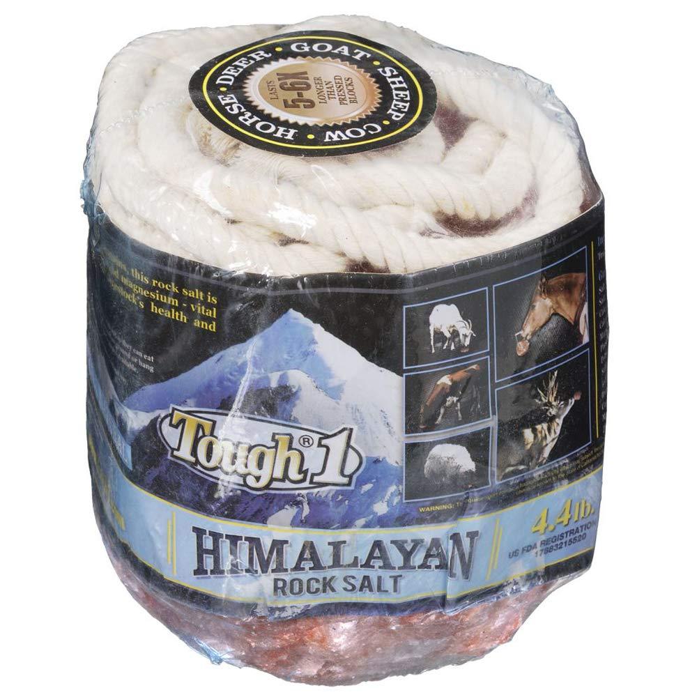 Tough-1 4 Lb Himalayan Rock Horse Health Salt Great Source Iron 6 Pack by Tough-1
