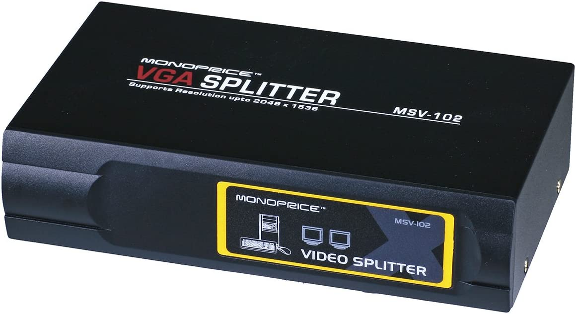 Video Splitter 1x2 VGA MSV-102