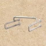 MDRW-Safety Handrail Toilet Nylon Anti Slip Handrail Toilet Bathroom Urinal Handle Lever 600600Mm
