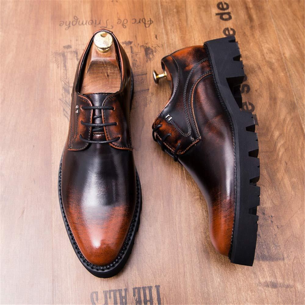 IWGR Herrenmode Oxford Casual und Vintage Outsole Schnüren Sie Sich Sich Sich Oben Formale Schuhe halb Formale Schuhe  112f03