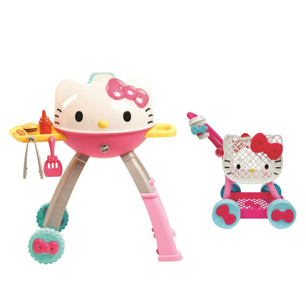 Hello Kitty Grill with Hello Kitty Shopping Cart